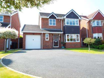 4 Bedrooms Detached House for sale in Clayton Close, Crewe, Cheshire