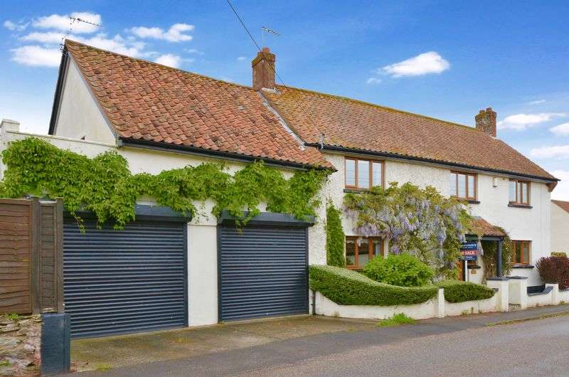 4 Bedrooms Detached House for sale in Church Road, North Newton