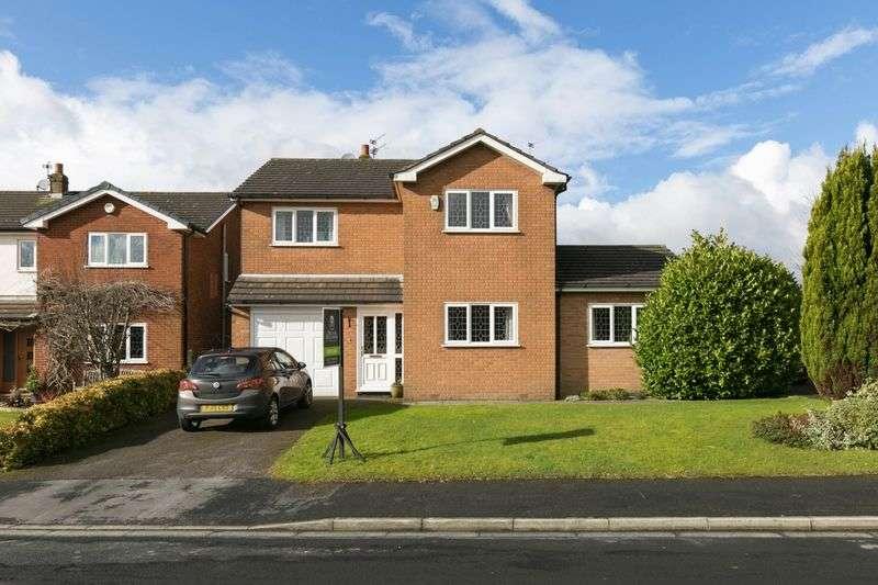 4 Bedrooms Detached House for sale in Glenside, Appley Bridge, WN6 9EG