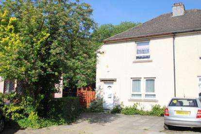 2 Bedrooms Semi Detached House for sale in Whitehaugh Avenue, Paisley