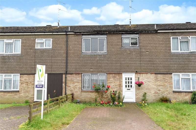 3 Bedrooms Terraced House for sale in Hearsey Gardens, Blackwater, Hampshire, GU17