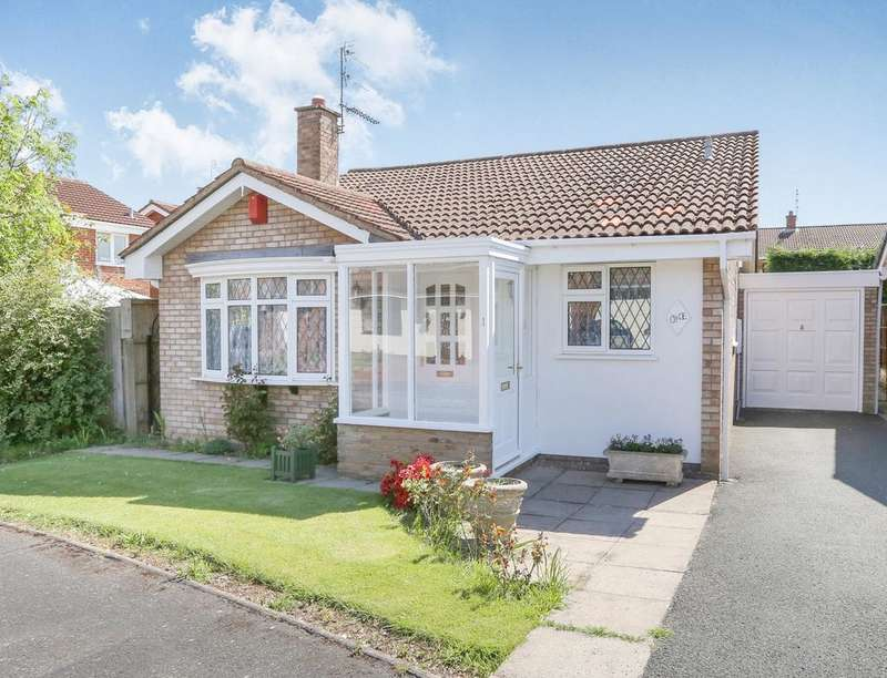 3 Bedrooms Detached Bungalow for sale in Repton Avenue, Perton, Wolverhampton, WV6