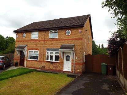 2 Bedrooms Semi Detached House for sale in Wysall Close, St. Helens, Merseyside, WA11