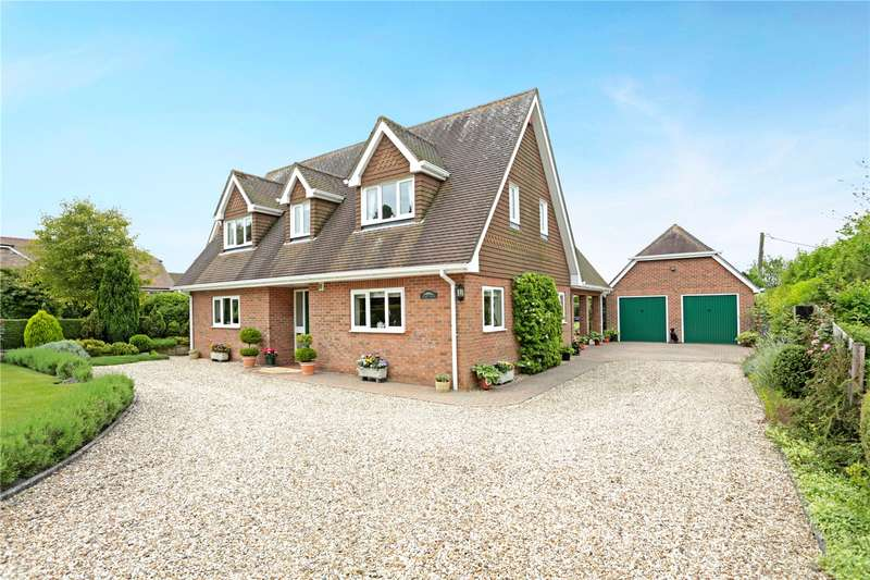 4 Bedrooms Detached House for sale in Cutting Hill, Ham, Hungerford, Berkshire, RG17