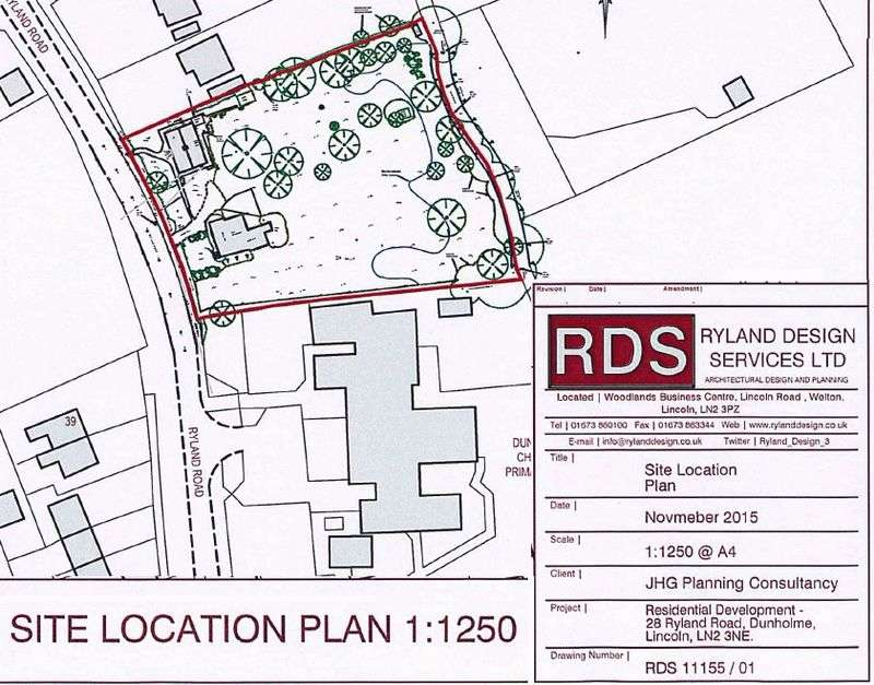 Property for sale in Ryland Road, Dunholme, Lincoln