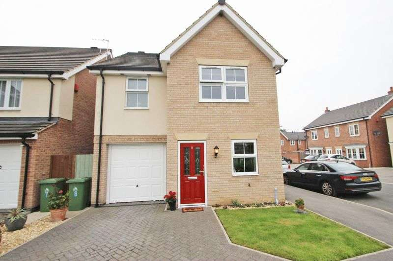 3 Bedrooms Detached House for sale in TEALBY CLOSE, IMMINGHAM