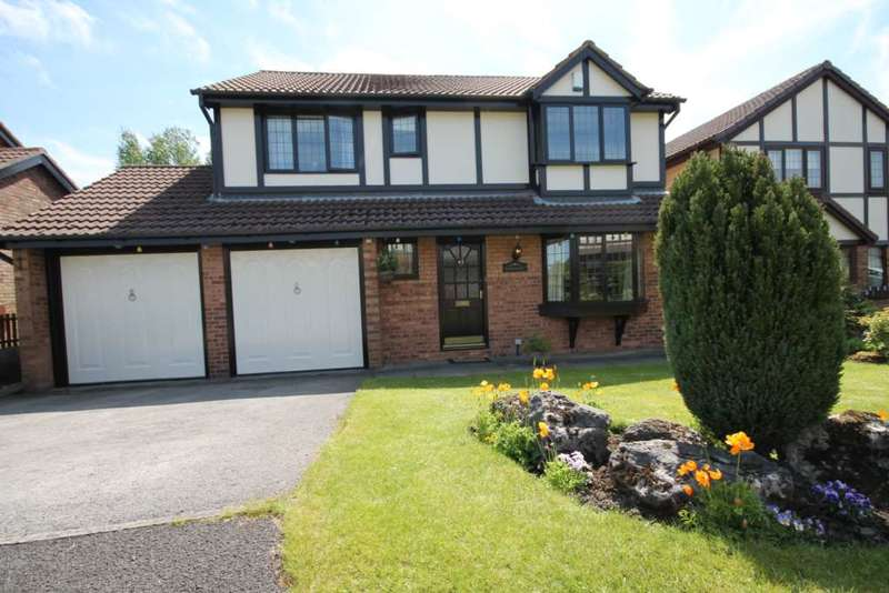 4 Bedrooms Detached House for sale in Firs Road, Over Hulton, Bolton.