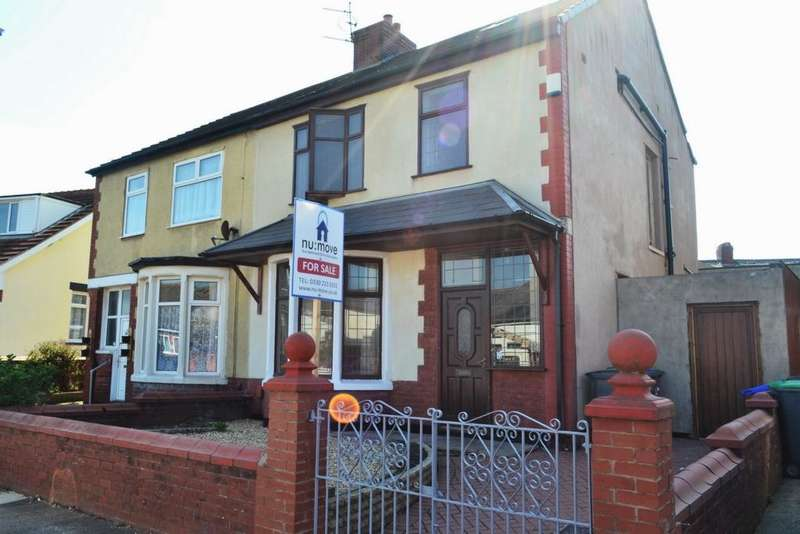 4 Bedrooms Semi Detached House for sale in Westminster Road, Blackpool, FY1