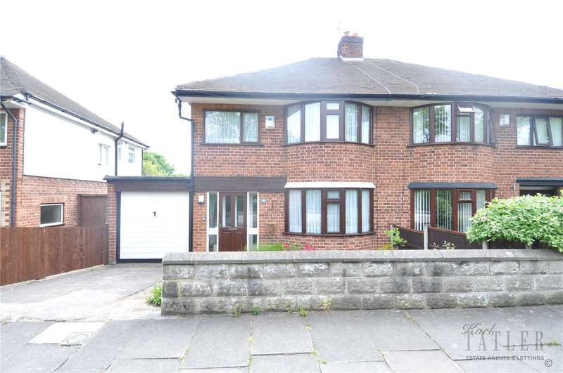 3 Bedrooms Semi Detached House for sale in Barnston Road, Thingwall, Wirral