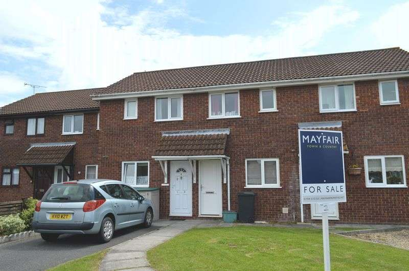 2 Bedrooms Terraced House for sale in Saxby Close, Weston-Super-Mare