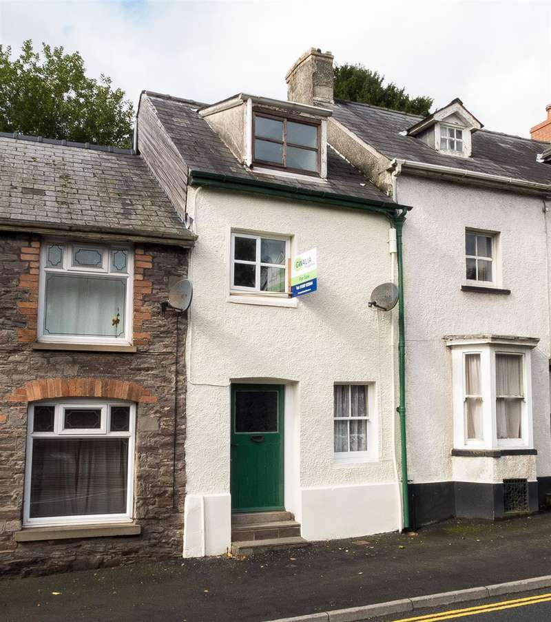 3 Bedrooms Terraced House for sale in Pendre, Brecon