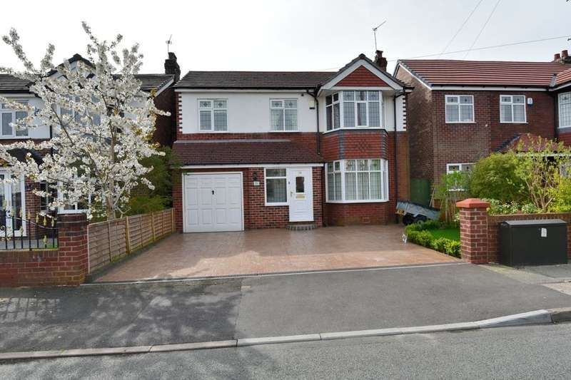 4 Bedrooms Detached House for sale in Wellfield Road, Offerton, Stockport, SK2 6AT