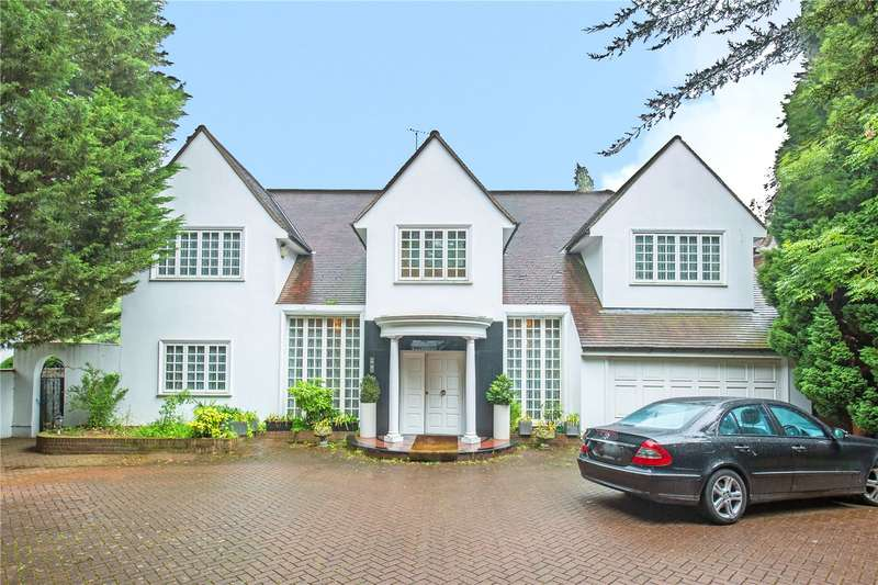 4 Bedrooms Detached House for sale in The Bishops Avenue, Hampstead Garden Suburb, London, N2