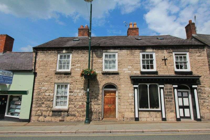3 Bedrooms Terraced House for sale in Clwyd Street, Ruthin