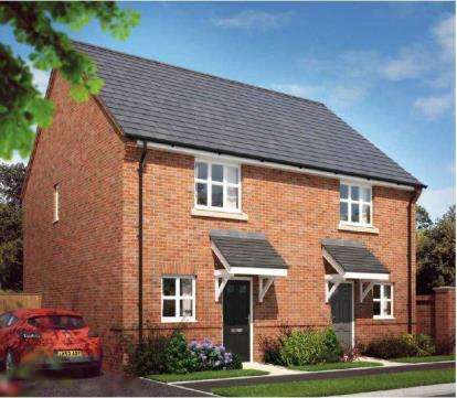 2 Bedrooms Semi Detached House for sale in Earls Reach, Old School Lane, Awsworth, Nottingham