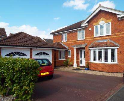 4 Bedrooms Detached House for sale in Rochester Close, Long Eaton, Nottingham, Derbyshire