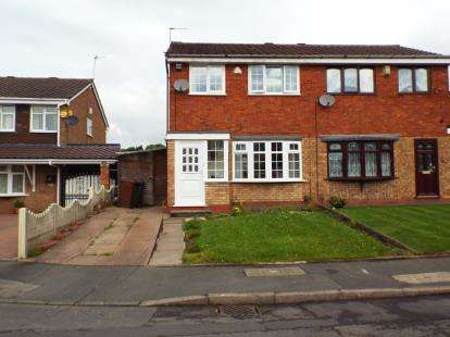 3 Bedrooms Semi Detached House for sale in Langmead Close, Walsall, West Midlands