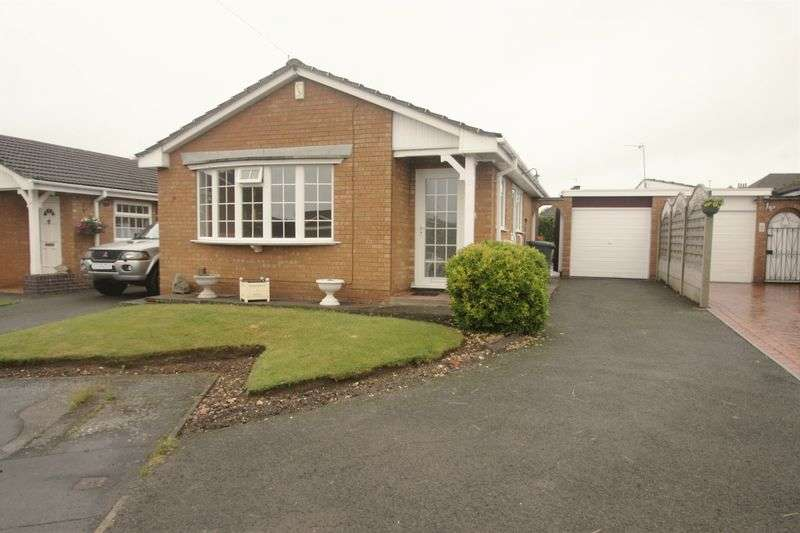 2 Bedrooms Detached Bungalow for sale in Linden Close, Ibstock