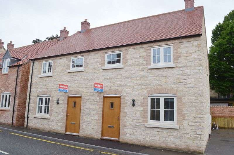 3 Bedrooms Semi Detached House for sale in Plot 2 Blacksmiths Yard Bar Lane WADDINGTON