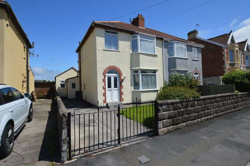 4 Bedrooms Semi Detached House for sale in Mendip Road, Weston-Super-Mare