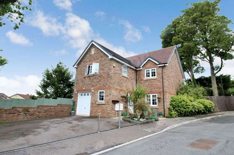 4 Bedrooms Detached House for sale in Westfield Gardens, Malpas, Newport