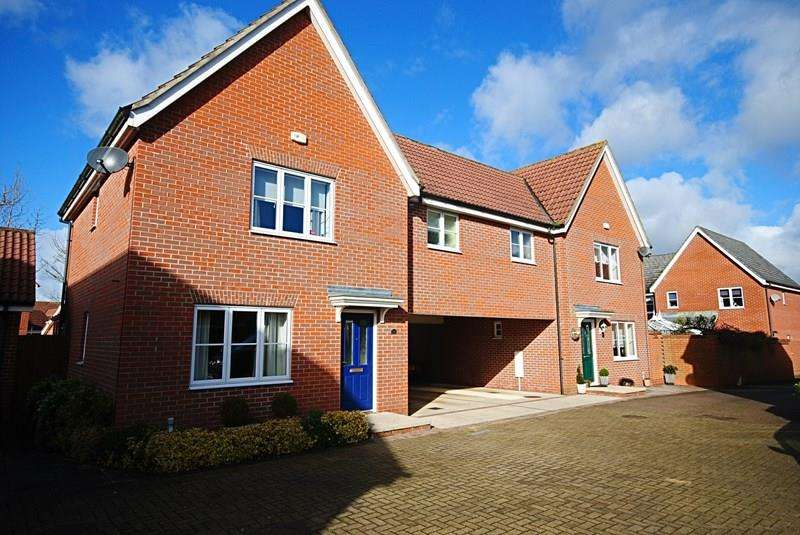 3 Bedrooms Link Detached House for sale in Upgate, Long Stratton, Norwich