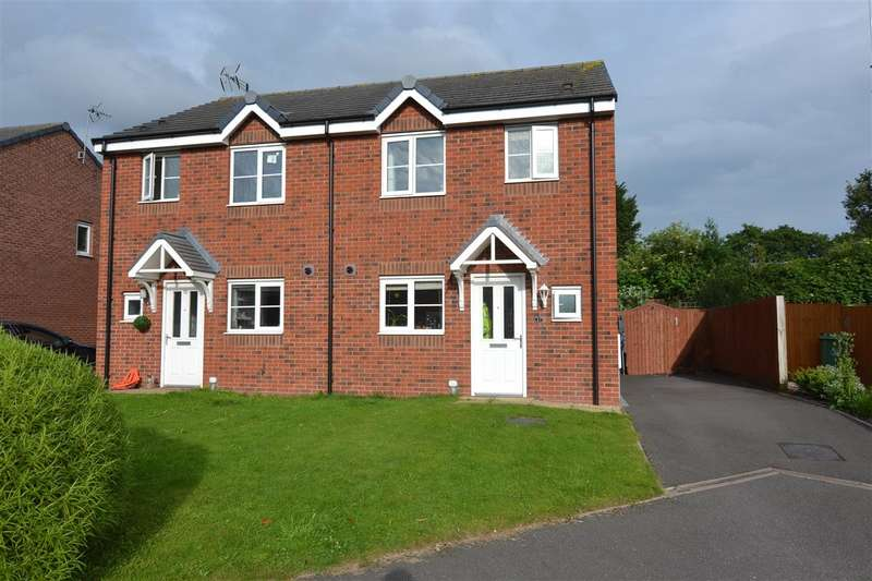 3 Bedrooms Semi Detached House for sale in Castlemill Close, Weston, Stafford