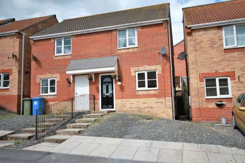 2 Bedrooms Semi Detached House for sale in Cliffe Avenue, Carlin How