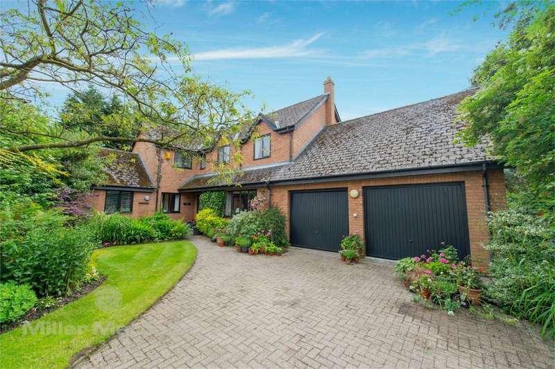 4 Bedrooms Detached House for sale in Shaving Lane, Worsley, Manchester