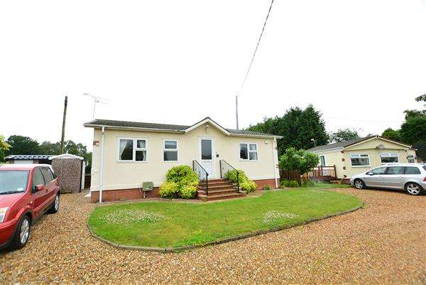 2 Bedrooms Bungalow for sale in Lamb Cottage Caravan Park, Dalefords Lane, Whitegate