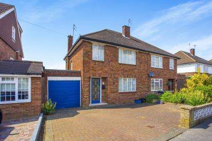 3 Bedrooms Semi Detached House for sale in Mill Way, Bushey, Hertfordshire