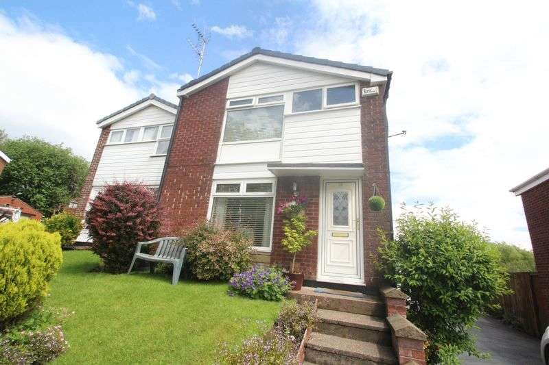 3 Bedrooms Semi Detached House for sale in Glenavon Drive, Shawclough OL12 6DT