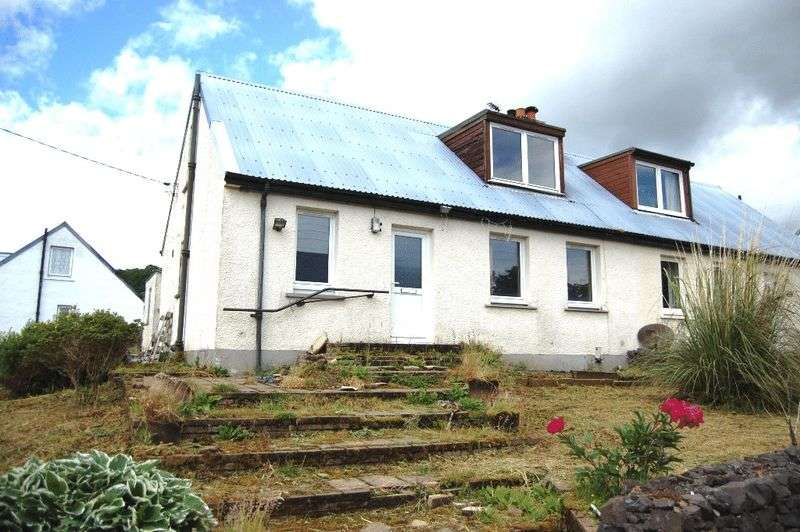3 Bedrooms Semi Detached House for sale in Dalavich, Taynuilt