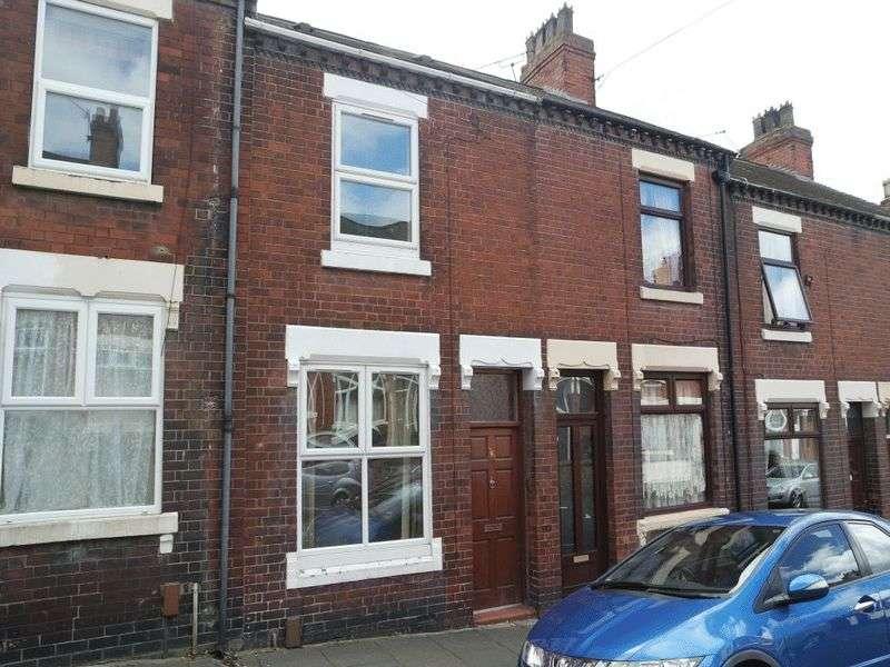 2 Bedrooms Terraced House for sale in Nash Peake Street, Tunstall, Stoke On Trent, ST6 5BT