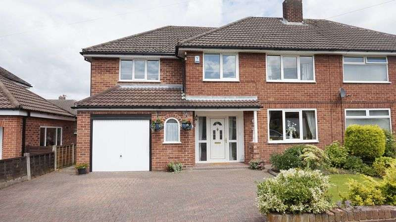 5 Bedrooms Semi Detached House for sale in Pickering Crescent, Warrington