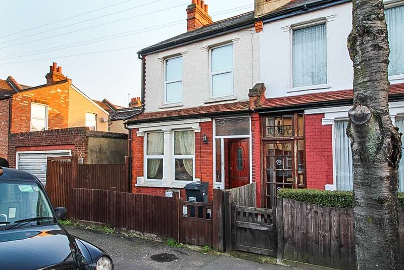 2 Bedrooms End Of Terrace House for sale in Palmers road, Norbury, London, SW16