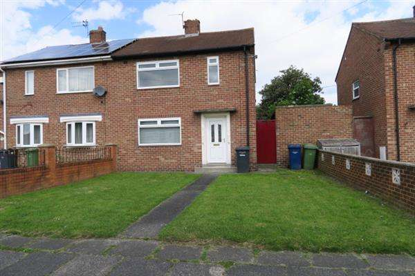 2 Bedrooms Semi Detached House for sale in Brockley Avenue, South Shields