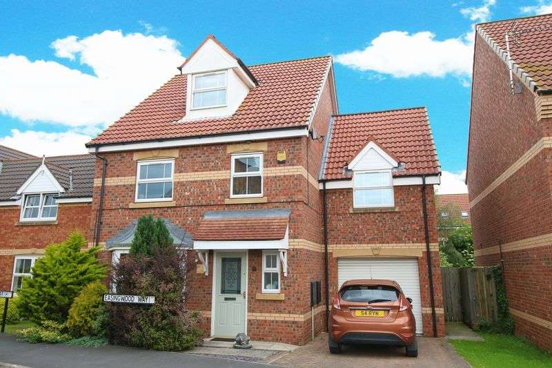 4 Bedrooms Detached House for sale in Easingwood Way, Driffield