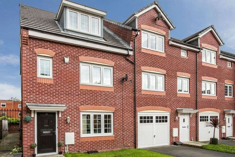 4 Bedrooms Terraced House for sale in Corbel Way, Manchester