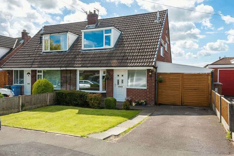3 Bedrooms Semi Detached House for sale in Larkfield, Eccleston