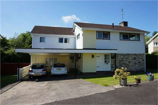5 Bedrooms Detached House for sale in St Cybi Drive, Llangybi, USK