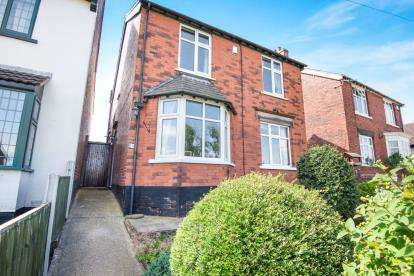 4 Bedrooms Detached House for sale in Ringwood Road, Brimington, Chesterfield, Derbyshire