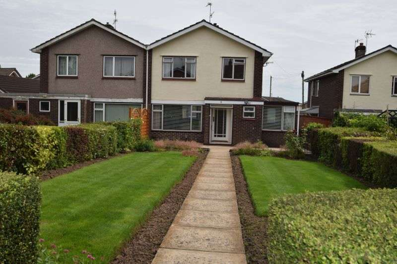 3 Bedrooms Semi Detached House for sale in Llanthewy Close, Croesyceiliog, Cwmbran