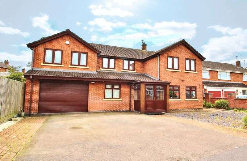 6 Bedrooms Detached House for sale in Northfields, Syston, Leicestershire