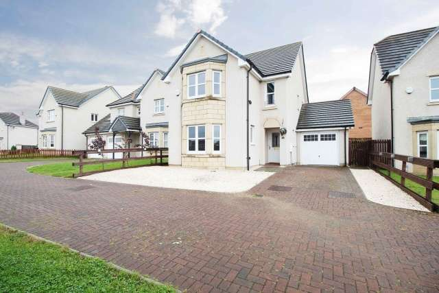 4 Bedrooms Detached House for sale in Plover Crescent, Dunfermline, Fife, KY11 8FZ
