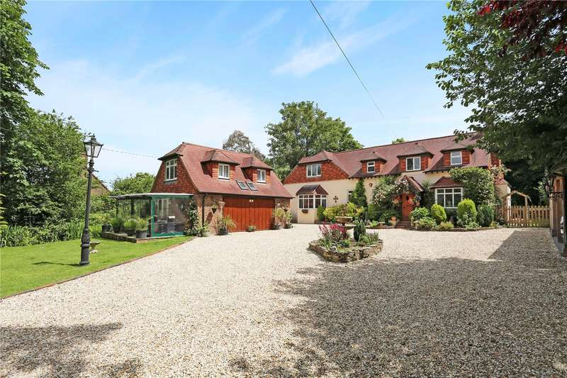 5 Bedrooms Detached House for sale in Henfield Road, Small Dole, Henfield, West Sussex, BN5
