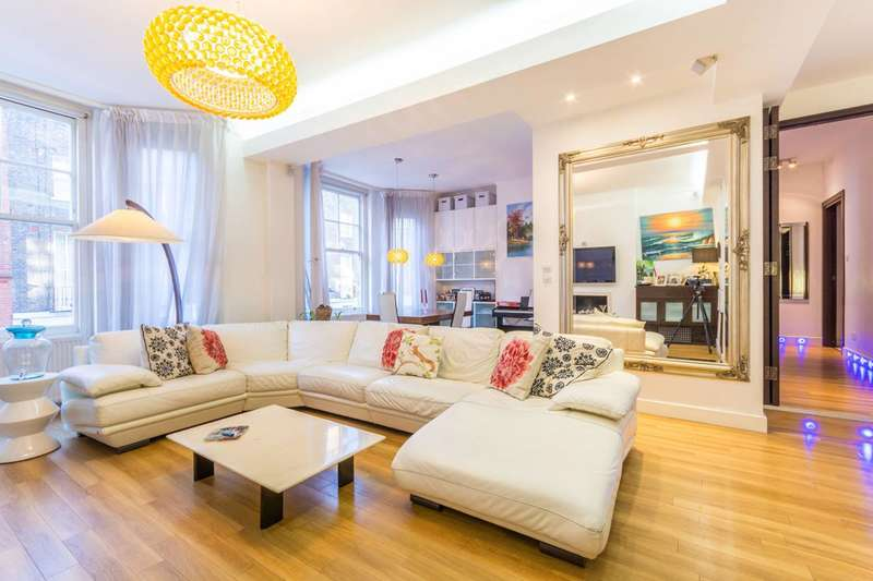 3 Bedrooms Flat for sale in York Street, Marylebone, W1H