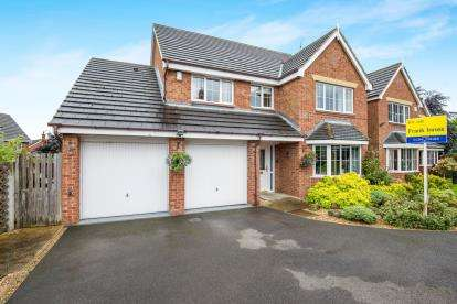 4 Bedrooms Detached House for sale in Stanier Way, Renishaw, Sheffield, Derbyshire