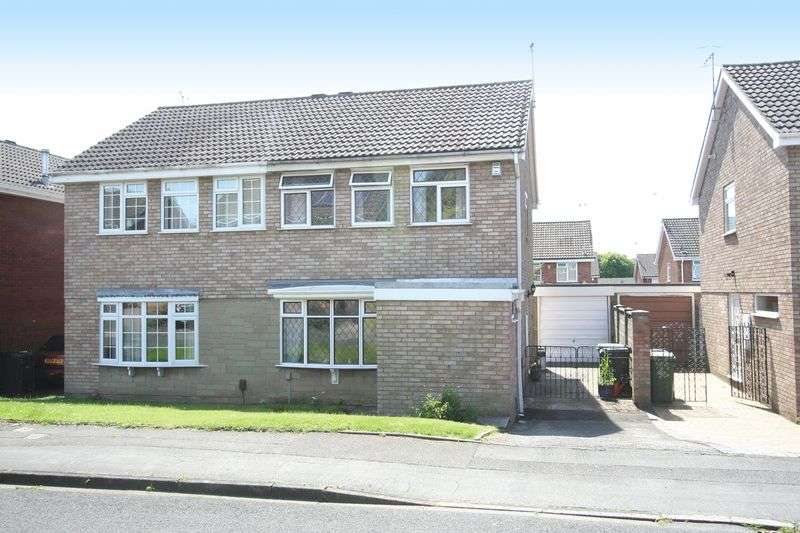 3 Bedrooms Semi Detached House for sale in KINGSWINFORD, Gladstone Grove