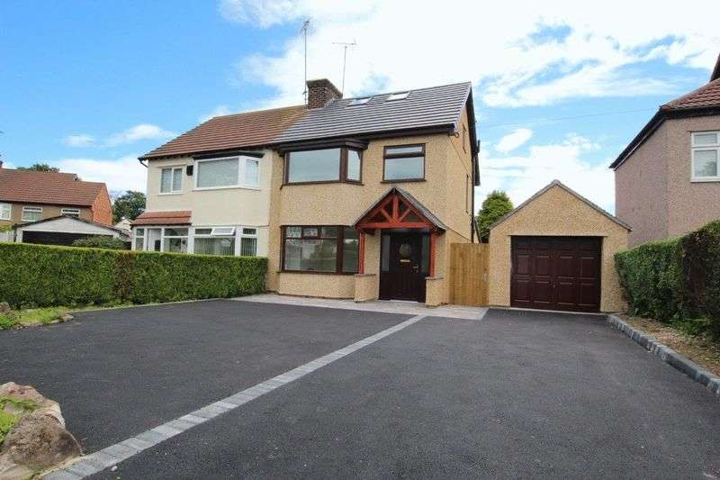 4 Bedrooms Semi Detached House for sale in Pensby Road, Heswall